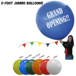 60 Inch 5FT Round Balloons