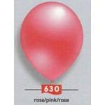 "12"" Inch Local Matellic Pink Round Balloons ~ 100pcs"