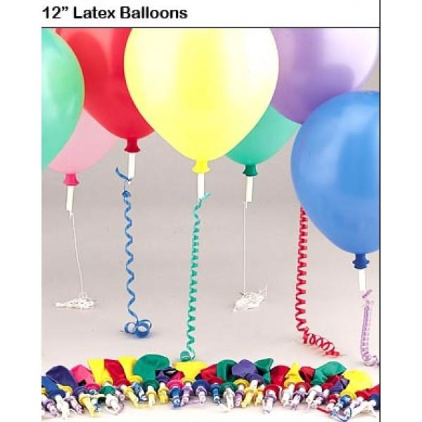 Balloon Weight - E-Z Safety Seal Valves ~ 25pcs