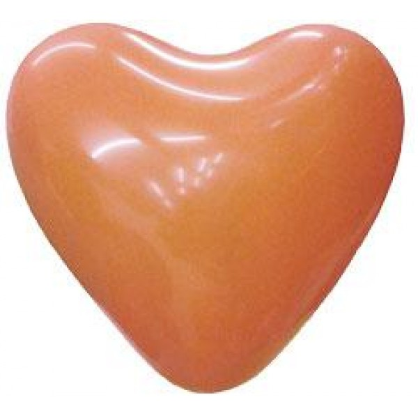 6 Heart Shape Orange Balloons ~ 100pcs Thailand OEM