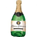 Anagram 36 x 14 inch Champagne Bottle