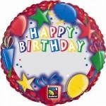 "Qualatex 18"" Birthday Presents Name"