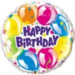 "Qualatex 36"" Inch Birthday Sparkling Balloons"