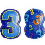 "Anagram 18"" Number 3 Shaped"