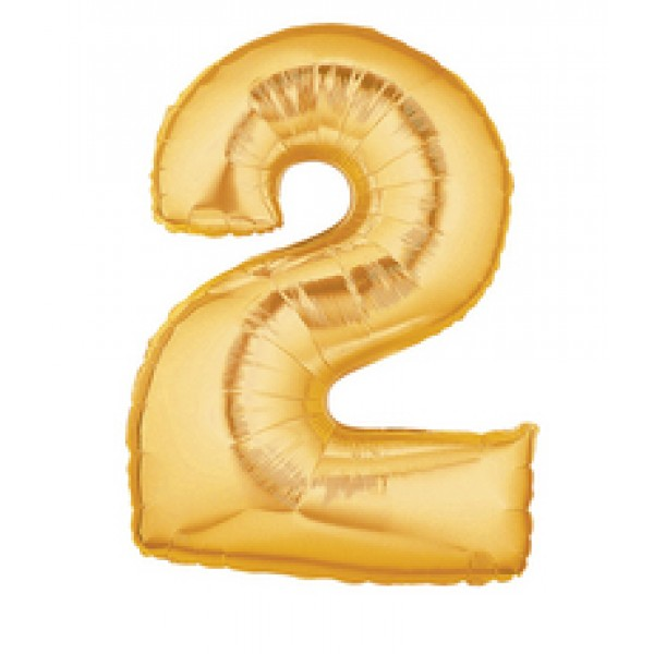Betallic 14 Number 2 Gold Betallic