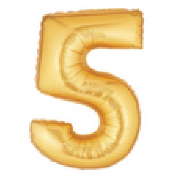 Betallic 14 Number 5 Gold Betallic