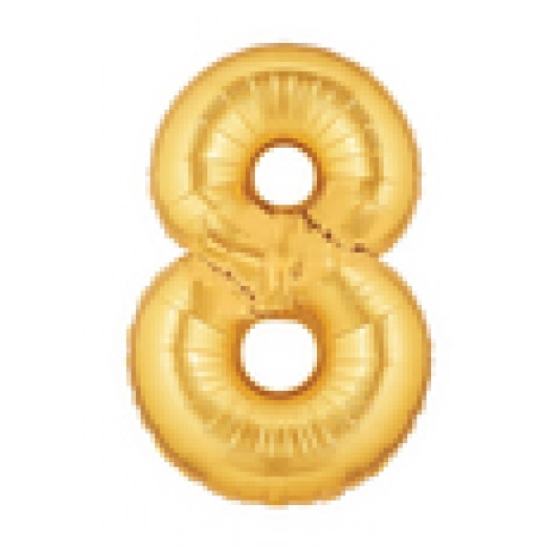 Betallic 14 Number 8 Gold Betallic
