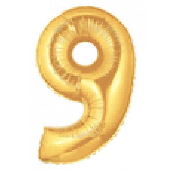 Betallic 14 Number 9 Gold Betallic