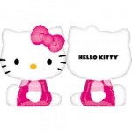 Anagram 22 x 27 inch Hello Kitty Shape (Side Pose)