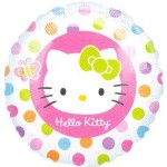 "Anagram 18"" Hello Kitty Rainbow Dots"