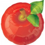 Anagram 18 Inch Apple Shaped Balloon
