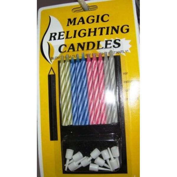 Magic Relighting Candles OEM Others