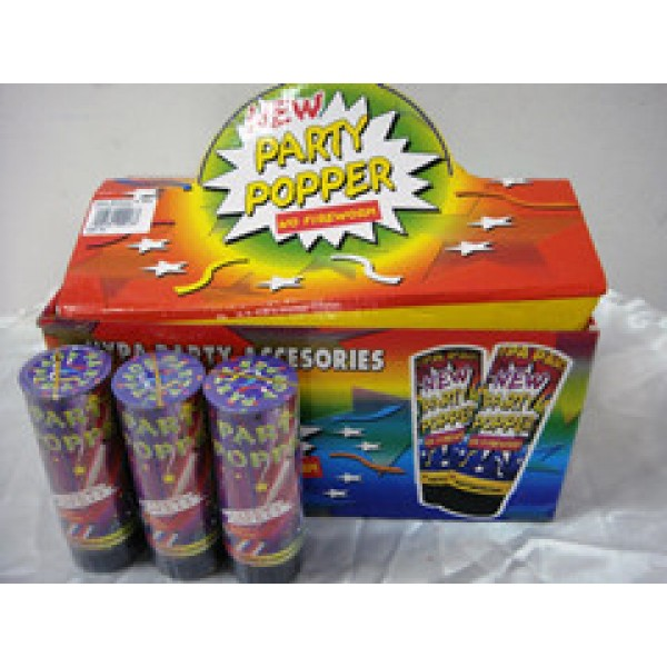 11cm Party Popper - 3 units per pack OEM-Others