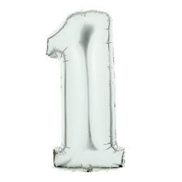 Betallic 14 Number 1 Silver Betallic