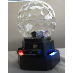 LED MP3 Crystal Magic Ball