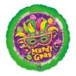 """Anagram 18"""" Inch Mardi Gras Masquerade Balloon"""