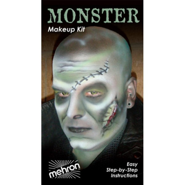 Mehron Makeup Kit - Monster Mehron Makeup