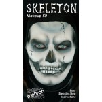 Mehron Makeup Kit - Skeleton
