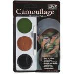 Mehron Tri-Color Palette - Camouflage