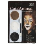 Mehron Tri-Color Palette - Cat / Animal
