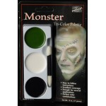 Mehron Tri-Color Palette - Monster