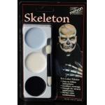 Mehron Tri-Color Palette - Skeleton