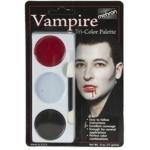 Mehron Tri-Color Palette - Vampire