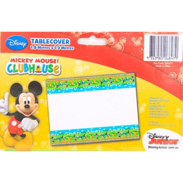 Amscan Mickey Mouse Table Cover Amscan