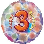 "Anagram 17"" Happy 3rd Birthday"