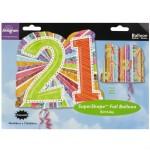 """Anagram 26""""x 27"""" Radiant Birthday Prism 21"""