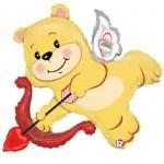 "Betallic 42"" Cupid Bear"