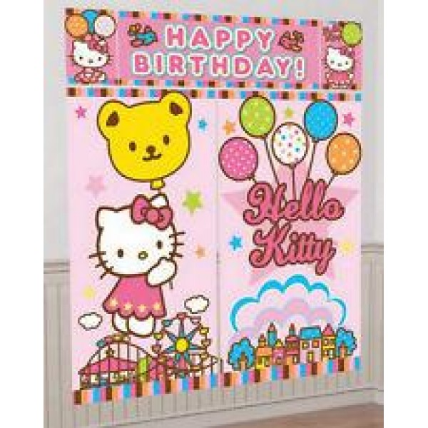 Hello Kitty Scene Setter Amscan