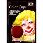 Mehron Color Cup 0.5 oz ~ Red