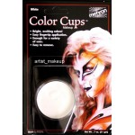 Mehron Color Cup 0.5 oz ~ White