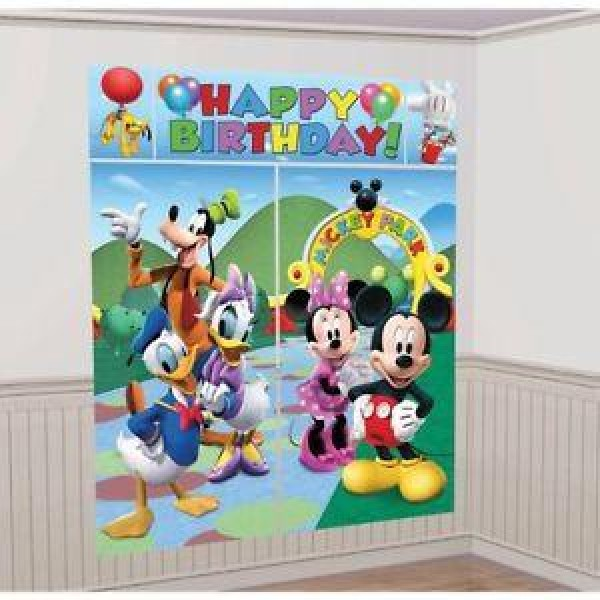 Mickey Mouse Scene Setter Amscan