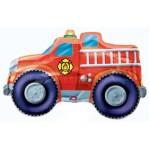 Anagram 33''x20'' Inch Rescue Team Fire Truck