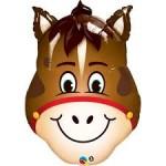 """Qualatex 32"""" Inch Hilarious Horse Head"""