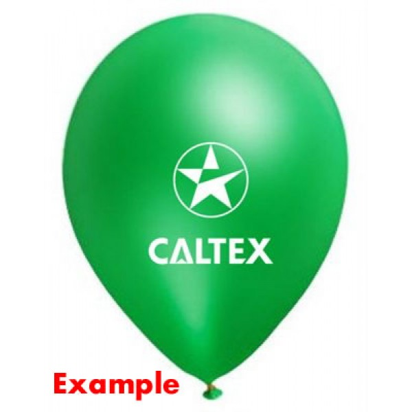 balloons printing standard color 1 sided 1 color - 200 pcs