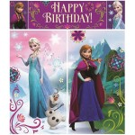 Disney Frozen Scene Setters Wall Decorating Kit (5 Pieces) by Amscan