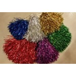 Party Cheering Pompom In Metalic Color