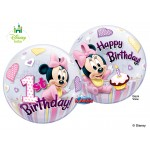 "22"" Minnie Mouse 1st Birthday"