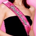 BacheloretteParty Fabric & Sequin Sash
