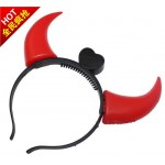 Halloween Light Up Devil Horn ~ RED