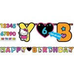 Hello Kitty Tween Letter Banner