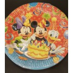Mickey Mouse Party Plates -10 pcs