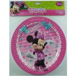 Minnie Mouse Bow-tique Paper Plates – 8 Pack