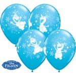 Qualatex 11 inch Frozen Olaf Dancing ~ 10pcs