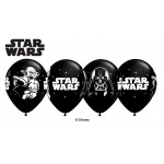 Qualatex 11 inch 	Star Wars Onyx Black Classic ~ 10pcs