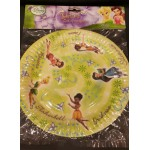 Tinkerbell Great Fairy Rescue Party Plates - 8 Pack