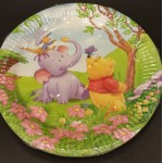 Winnie The Pooh Party Plates - 10 pcs